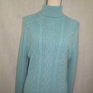 Style & Co Turtleneck Sweater Size XL Long Sleeve
